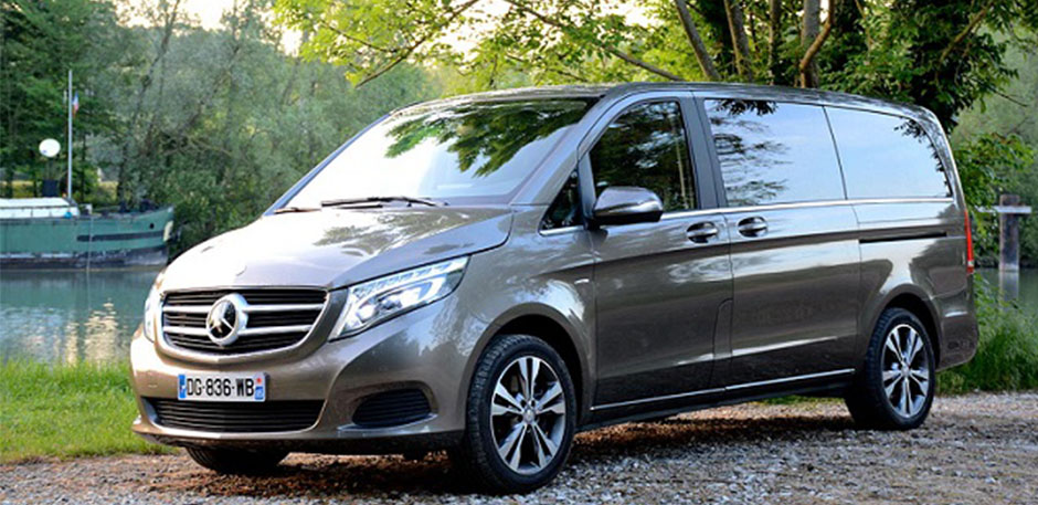 Luxury car rental in italy mercedes vito