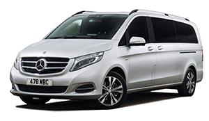 Luxury car rental in italy mercedes class v 220 d