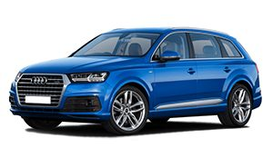 Luxury car rental in italy Audi Q7 3.0 S-line TDI 7 seats