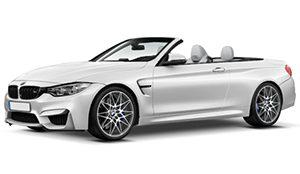 Luxury car rental in italy BMW M4 Sport Cabrio