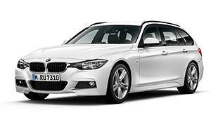 Luxury car rental in italy Bmw 320 D Touring