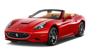 Luxury car rental in italy ferrari california