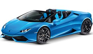 Luxury car rental in italy Lamborghini Huracan LP 610-4 Spider