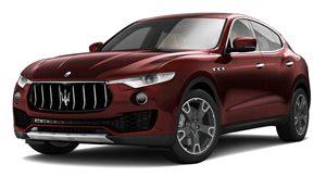 Luxury car rental in italy maserati levante 3.0