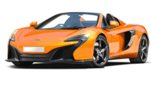 Luxury car rental in italy McLaren 650 S Roadster