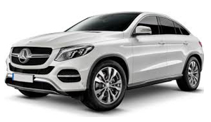 Luxury car rental in italy Mercedes Benz GLE Coupe 350D