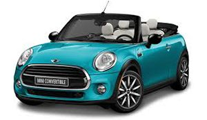 Luxury car rental in italy Mini Cooper Cabrio D