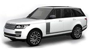 Luxury car rental in italy Range Rover Vogue 3.0 D