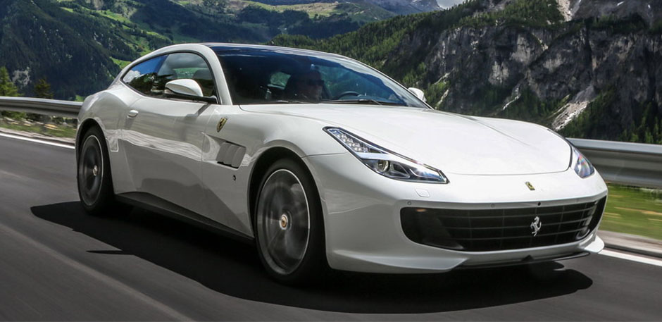 Luxury car rental in italy ferrari qt4 lusso