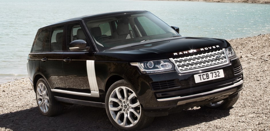 Luxury car rental in italy range rover