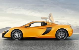 Luxury car rental in italy McLaren 650 S Roadster