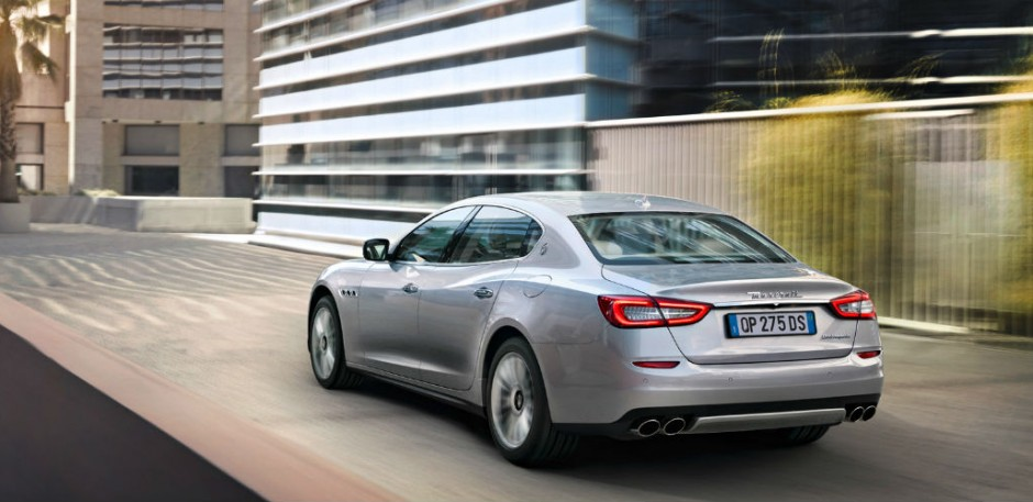 Luxury car rental in italy maserati