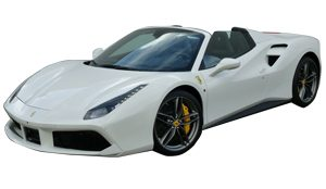 Luxury car rental in italy ferrari 488 spider