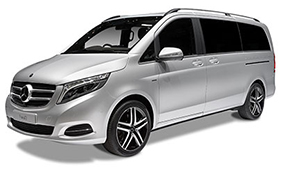 Luxury car rental in italy MERCEDES CLASS V 250