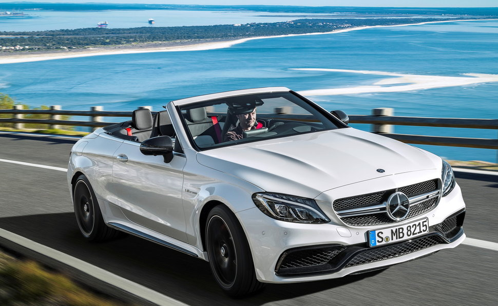 Luxury car rental in italy mercedes amg cabrio