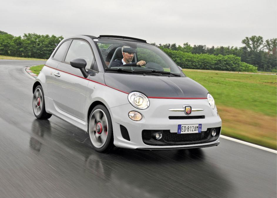 Luxury car rental in italy fiat 500 abarth cabrio