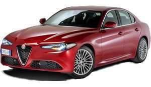 luxury car rental in italy alfa romeo giulia icon