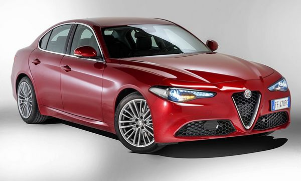 alfa romeo giulia luxury car rental in italy. Black Bedroom Furniture Sets. Home Design Ideas