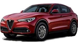 luxury car rental in italy alfa romeo stelvio icon