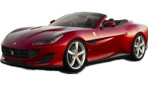luxury car rental in italy ferrari protofino icon