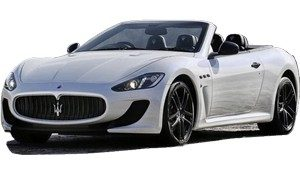 luxury car rental in italy maserati gran cabrio sport icon new