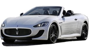 Luxury car rental in italy maserati gran cabrio