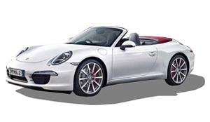 Luxury car rental in italy PORSCHE 911 CARRERA 45 CABRIO